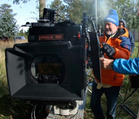 National Parks film shot with 15 perf 65mm 3D IMAX cameras